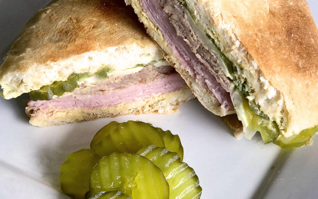 Cuban Sandwich with Crisp Giuliano Dills